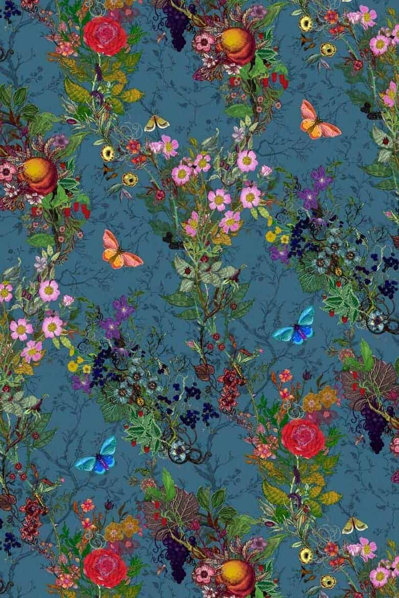 timorous beasties bloomsbury garden fabric