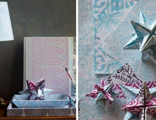 yateley papers hand block printed stationery and lampshades
