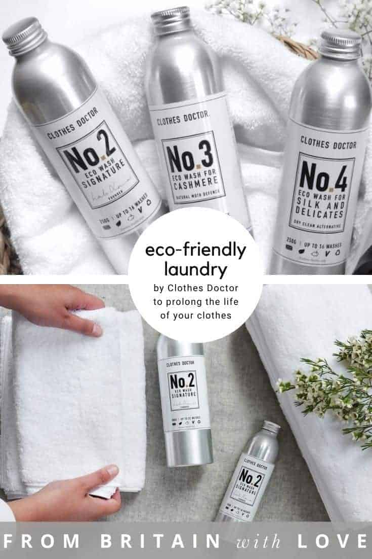 clothes doctor eco laundry set including signature eco washing detergent, cashmere and wool eco wash and silk eco wash, all zero waste and vegan suitable for low temperature washing and gentle hand washing. Eco laundry detergents made for those who believe in caring for their clothes and protecting skin from toxins without damaging the planet