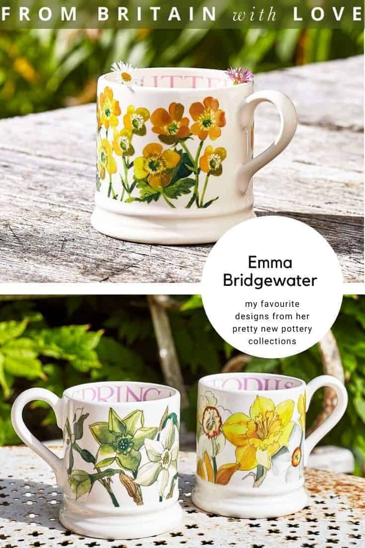 emma bridgewater pottery. click through to buy our pick of the most beautiful designs, all beautifully made in britain #emmabridgewater #pottery #buttercup #daffodil #mug #frombritainwithlove