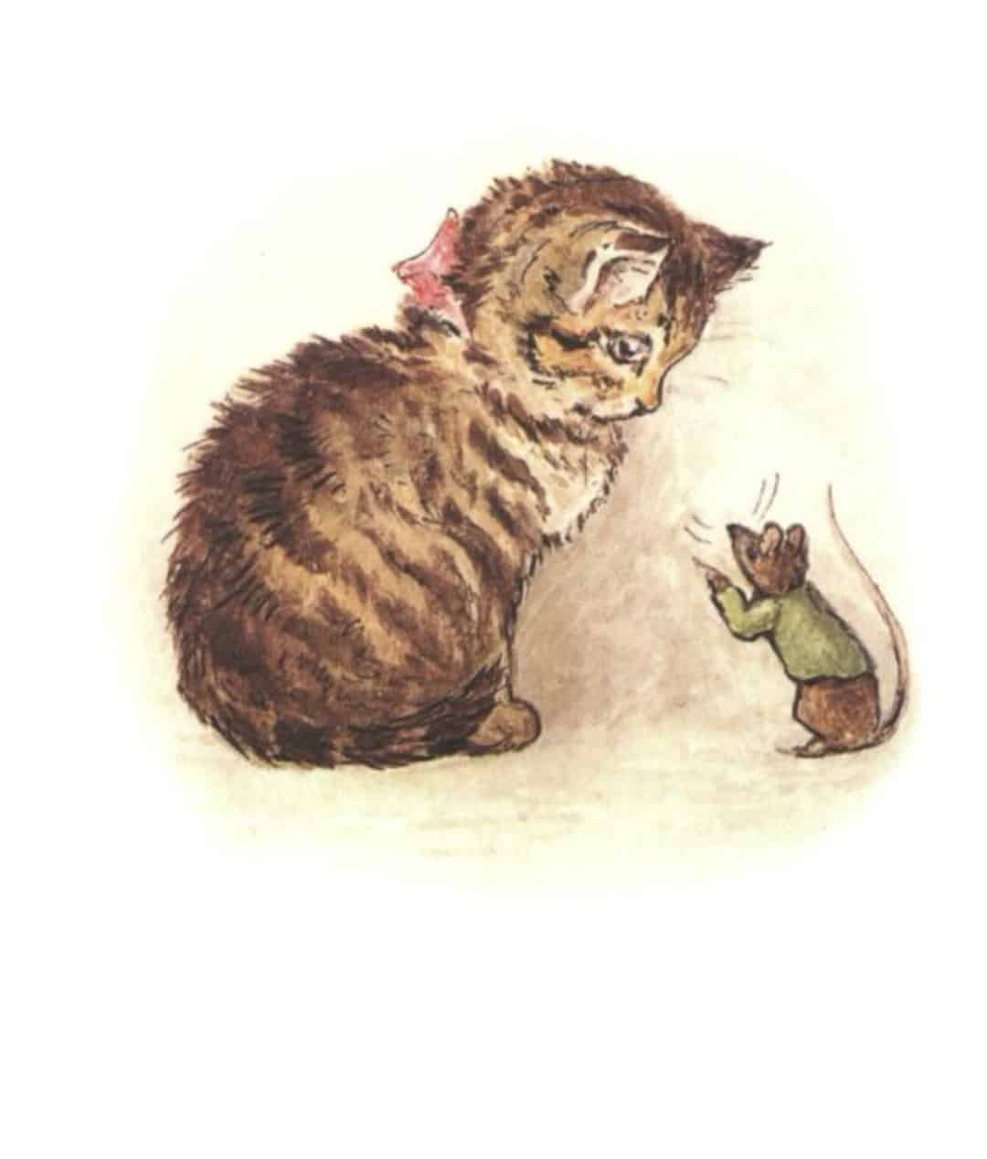 tale of miss moppet mouse and kitten beatrix potter