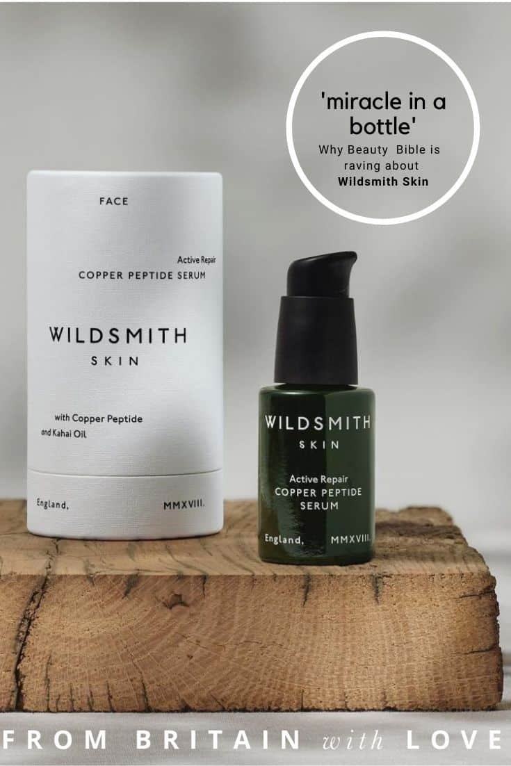 wildsmith skin luxury natural botanical clinically proven skincare loved by beauty bible and described as a 'miracle in a bottle' - discover face creams, cleansing balms, serums, facial oils and hand wash and lotion all made with care for the environment in England and clinically proven to give your skin a boost and help you look your best #wildsmith #skincare #natural #beautybible #ethical #sustainable #madeinengland