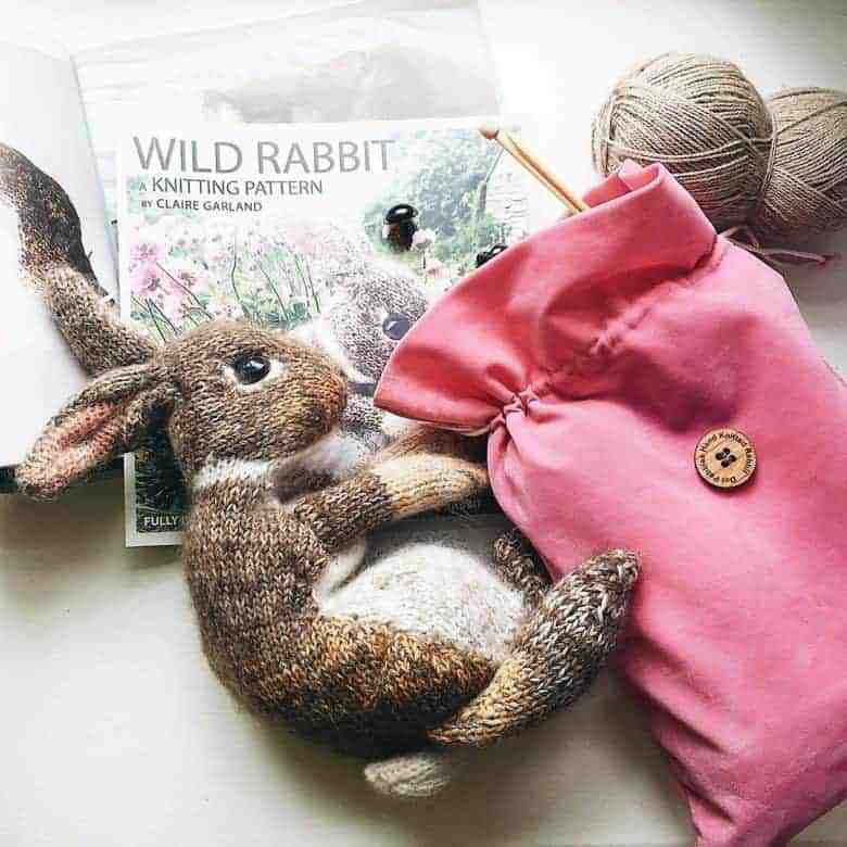claire garland knitting pattern wild rabbit