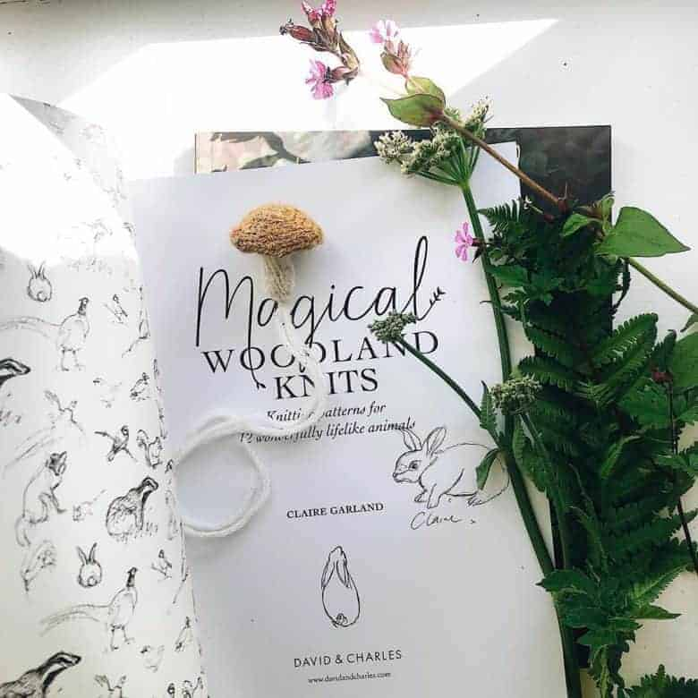 magical woodland knits by claire garland dot pebbles knits