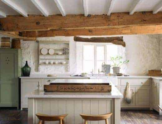 rustic shaker kitchen devol henley on thames #shaker #kitchen #rustic