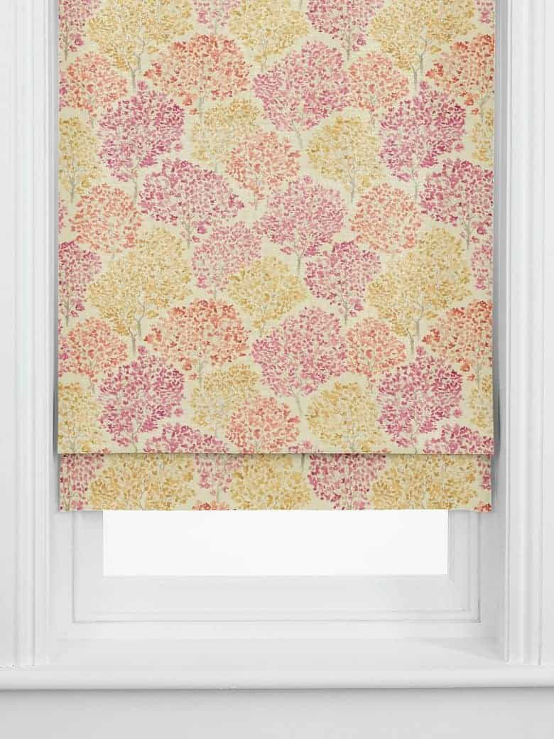 john lewis leckford trees roman blind autumn