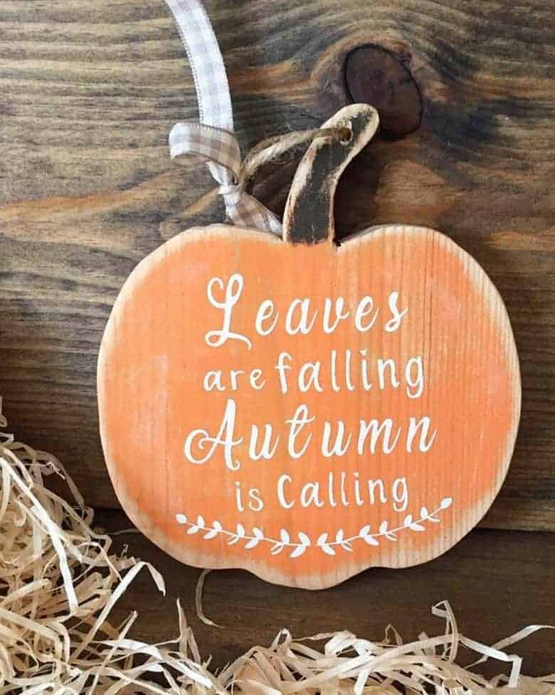 autumn decoration wooden pumpkin handmade etsy #autumn #decoration #handmade