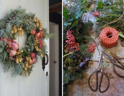 christmas wreath tutorial and ideas