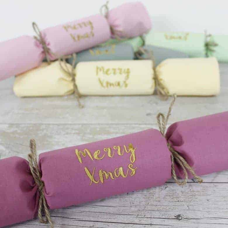 love these diy christmas crackers from etsy - simply fill with your own special treats and unroll into a washable and reusable napkin. You can also personalise with loved ones names - so they make a special place setting too. I've shared lots of other christmas cracker diy ideas you'll love #christmascracker #diy #plasticfree #sustainable #eco #christmas