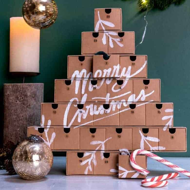 advent calendar tree diy advent calendars - our pick of the most beautiful advent calendar kits to enjoy making this Christmas and to love for years to come from etsy #advent #calendar #diy #frombritainwithlove #handmade