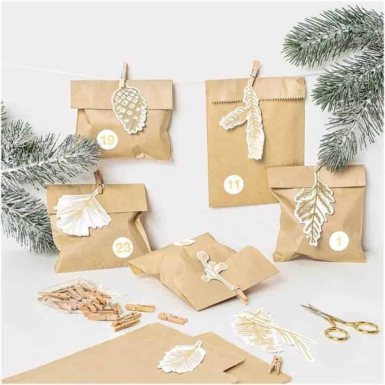 advent forest stickers and advent calendar kit diy advent calendars - our pick of the most beautiful advent calendar kits to enjoy making this Christmas and to love for years to come from etsy #advent #calendar #diy #frombritainwithlove #handmade