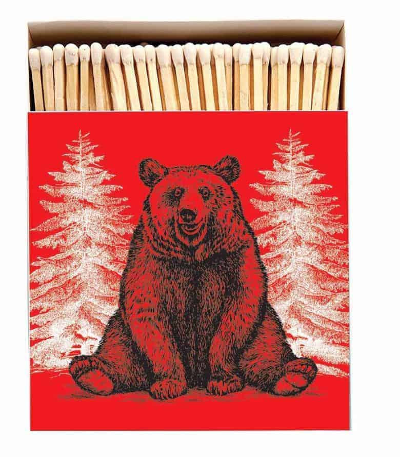 christmas matches archivist gallery red christmas bear hug