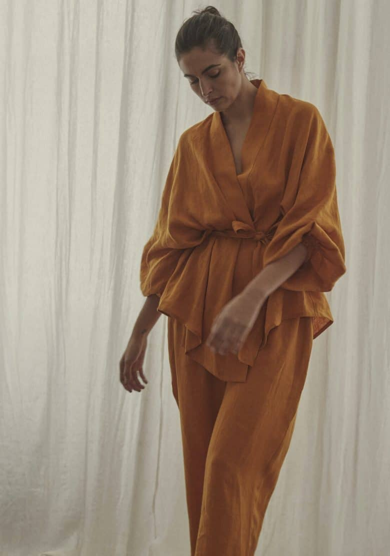 Ren london sustainable clothing made in England