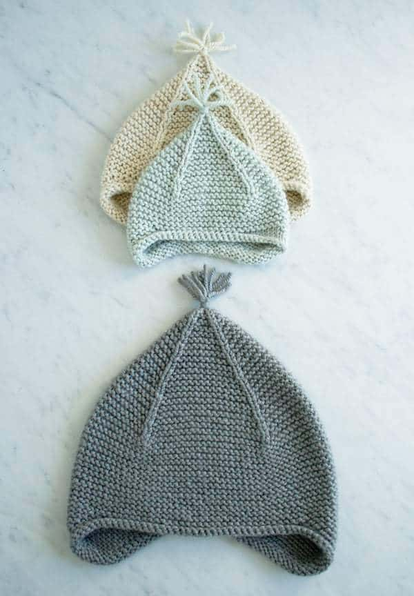 pixie hat free knitting pattern for babies #pattern #knitting #free #babies #pixiehat