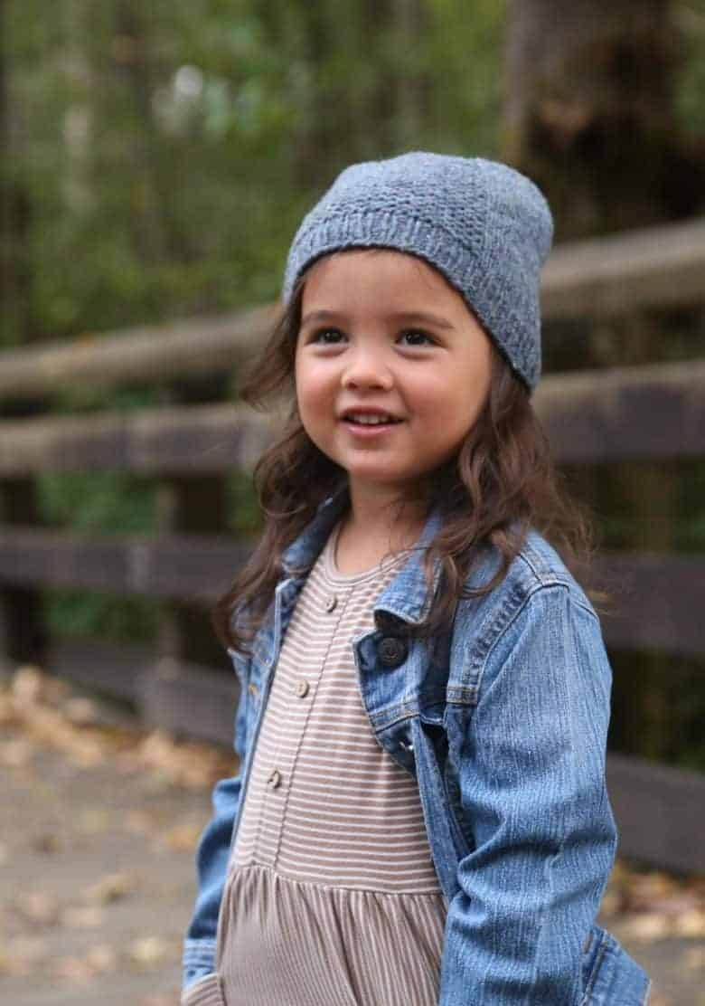 simple free knitting pattern child hat by tin cat knits just one of the adorable free knitting patterns for babies and children we've shared over on the blog #free #knitting #patterns