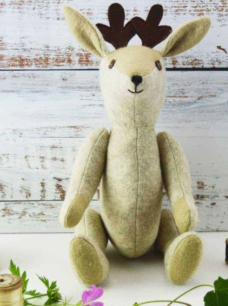 beatrice fawn sewing pattern kit #sewing #pattern #fawn #etsy #frombritainwithlove