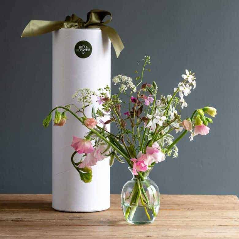 flower to vase subscription the real flower company