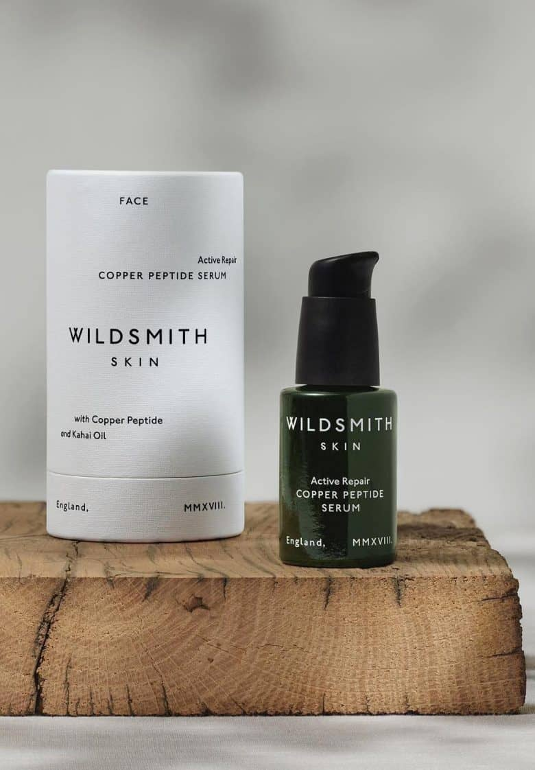 wildsmith skin active repair copper peptide serum skin boost - delivers natural, sustainable contouring, firming, smoothing in a daily serum #serum #smoothing #naturalbeauty #ecofriendly #botanical