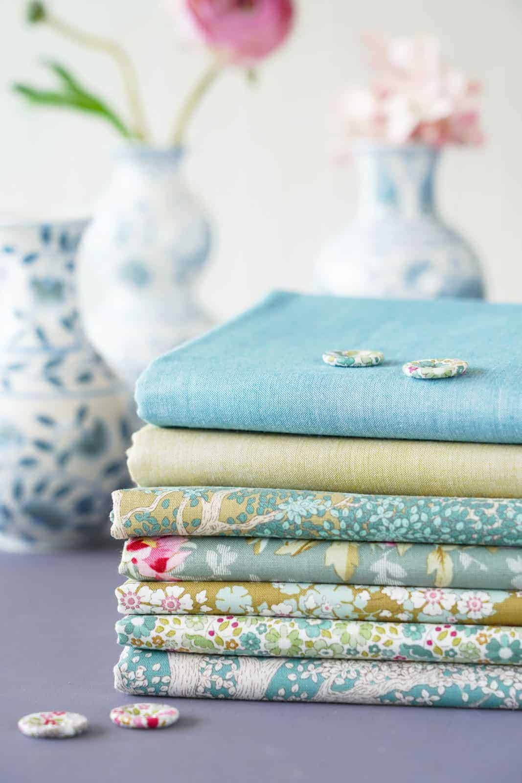 tilda woodland Sage collection of designs for autumn 2021 - just one of the beautiful collection of materials by Tilda that we love and have shared all the links you need to buy them and get sewing! #tilda #fabrics #woodland #tildafabrics