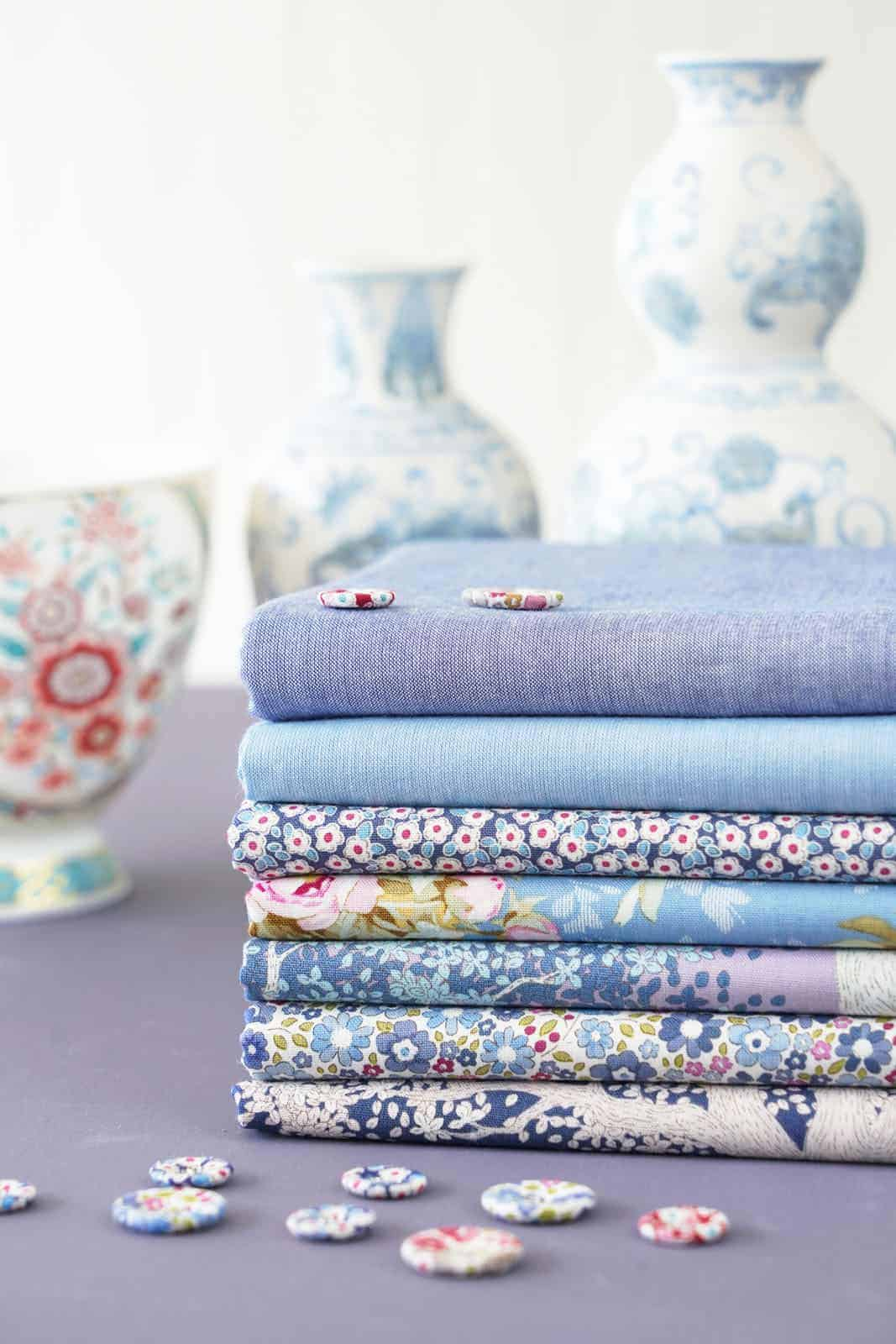 tilda woodland Blue collection of designs for autumn 2021 - just one of the beautiful collection of materials by Tilda that we love and have shared all the links you need to buy them and get sewing! #tilda #fabrics #woodland #tildafabrics