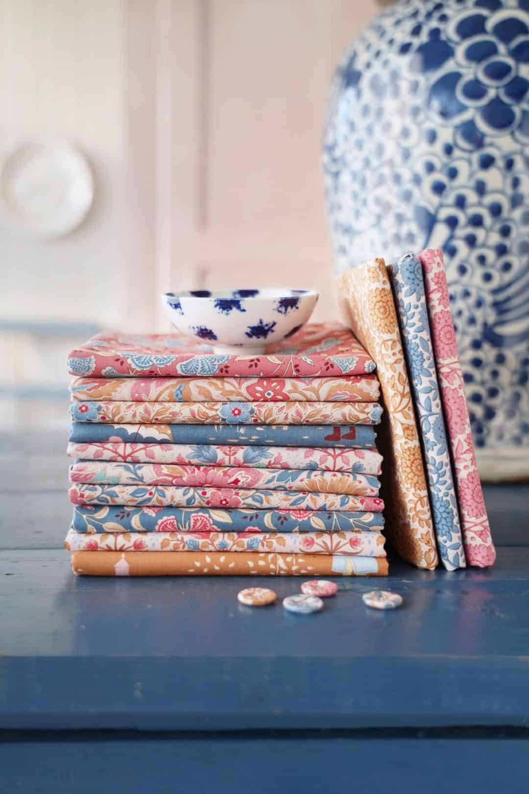 tilda fabrics windy days new collection of designs for autumn 2021 - just one of the beautiful collection of materials by Tilda that we love and have shared all the links you need to buy them and get sewing! #tilda #fabrics #windydays #tildafabrics