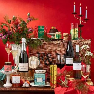 classic christmas hamper from fortnum and mason