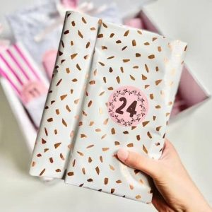 stationery advent calendar surprise gifts for stationery lovers for the 24 days of Chrismas