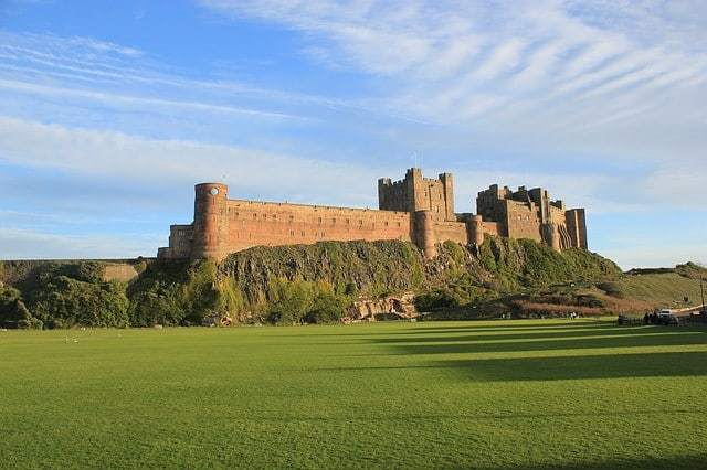 Bamburgh Castle - Public Domain