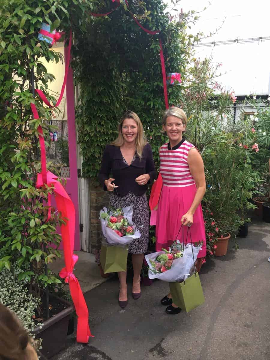 Jane Means and Sophie Conran at Clifton Nurseries