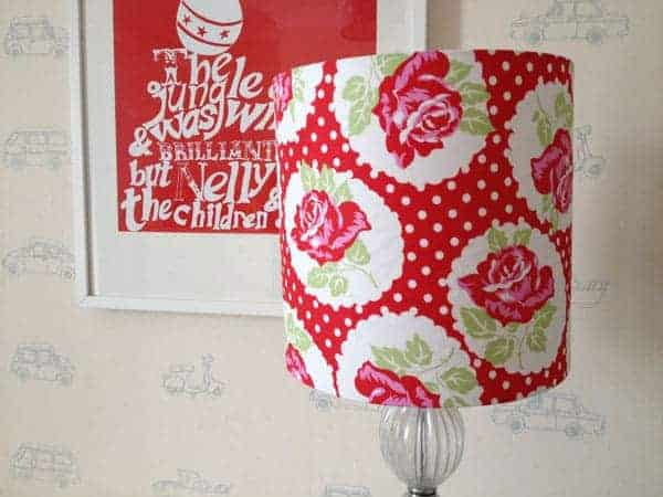 How to make a fabric drum lampshade