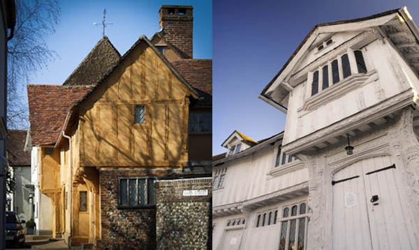 Guildhall and Little Hall Lavenham600