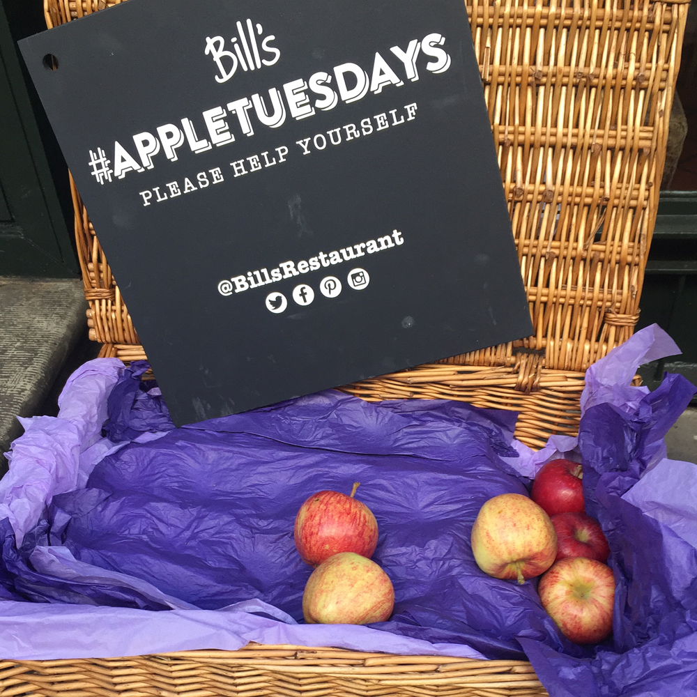 Bill's Restaurant Guildford #appletuesdays