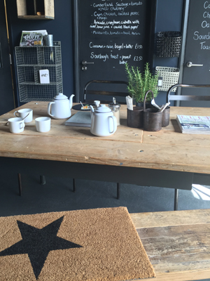 Design Vintage Chichester - click through to read all about this great local find - stylish interiors and great tea and cake at the cafe