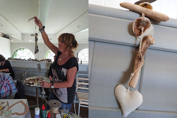 how to make a driftwood garland
