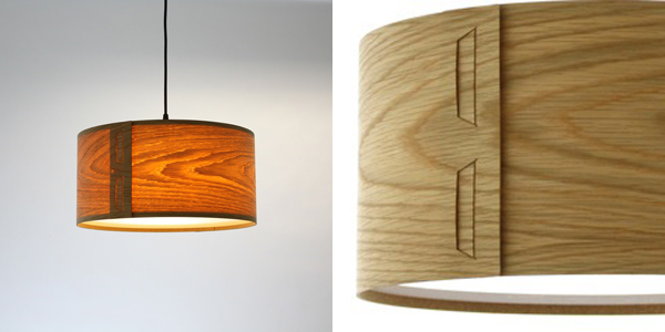 Wooden lampshades we love from britain with love john green tab shade oak aloadofball Gallery