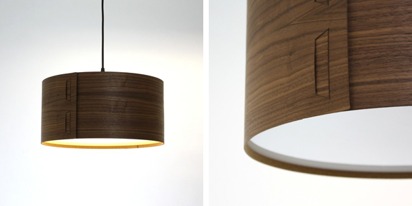 Wooden lampshades we love from britain with love johngreentabshadewalnut aloadofball Gallery