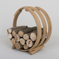 Tom Raffield Log Loop Log Basket