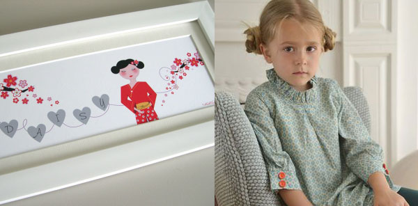Nannolica personalised children's print