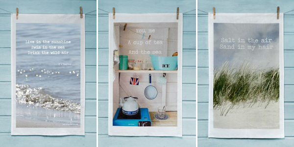seagrass photography tea towels