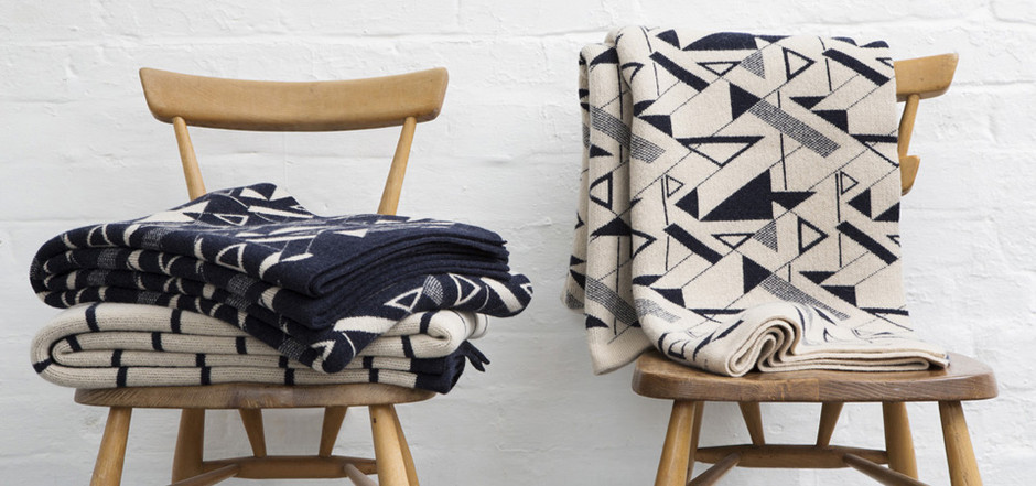 seven gauge studio throw and cushion