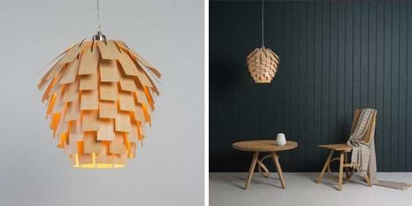 Wooden lampshades we love from britain with love tom raffield scots light aloadofball Gallery