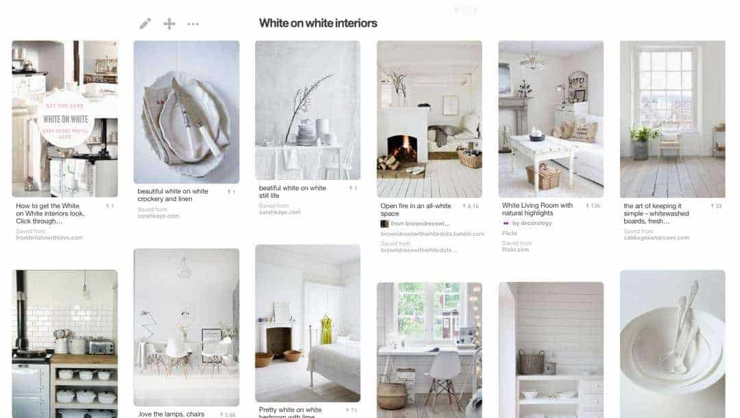White on White interiors ideas